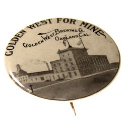 Golden West Brewing Co. Pin