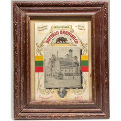 Buffalo Brewing Co. Electric Carnival Souvenir Lithograph