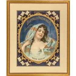 """Buffalo Brewing Co. """"New Brew"""" Gypsy Calendar Broadside"""