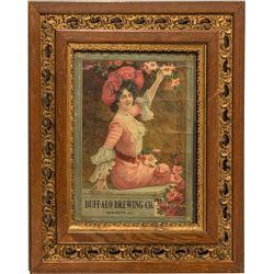 Buffalo Brewing Co. Bohemian Advertising Broadside by Schwarz