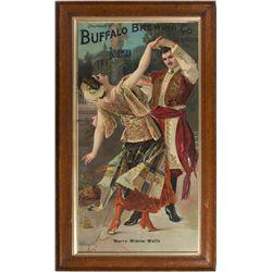 "Buffalo Brewing Co. Bohemian Broadside, ""Merry Widow Waltz"""