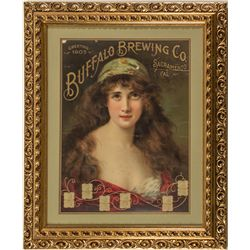 Buffalo Brewing Co. Calendar Broadside by A. Asti