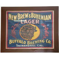 Buffalo Brewing Co. Cloth Advertising