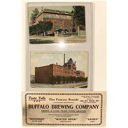 Buffalo Brewing Co. Ephemera