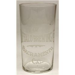 Buffalo Brewing Co. Glass