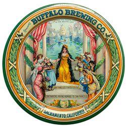 Buffalo Brewing Co. Tip Tray, San Francisco Exposition 1915