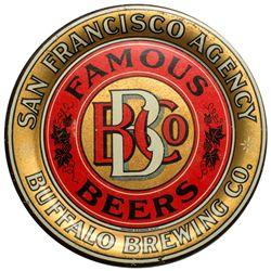 Buffalo Brewing Co. Tip Tray, San Francisco Agency