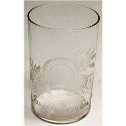 Buffalo Brewing Company Horseshoe glass