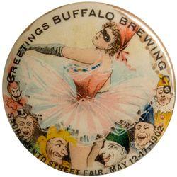 Buffalo Brewing Street Fair pin