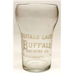 Buffalo Lager, Sacramento glass