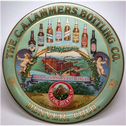 C.A. Lammers Bottling Co., Agent for Lang Brewing Co., Beer Tray