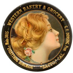 Western Bakery & Grocery Tip Tray
