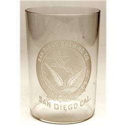 San Diego Brewing Co. glass