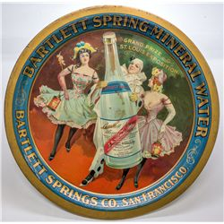 Bartlett Springs Co. Beer Tray, St Louis Exposition