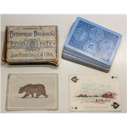 Enterprise Brewing / Mid Winter Fair playing cards