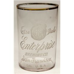 Enterprise Extra Pale glass