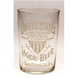 Extra Rare United States glass