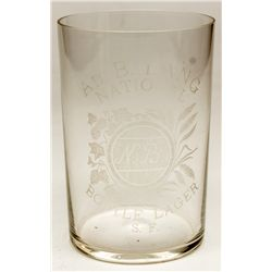 Lang / National Brewery glass