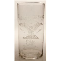 National Brewing glass