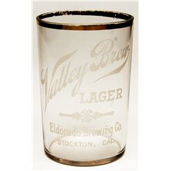 Valley Brew Lager glass