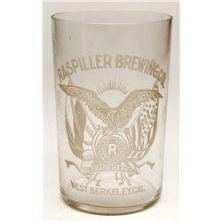 Raspiller Brewing glass