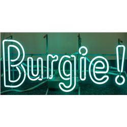 Neon Burgie! Sign
