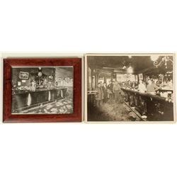 Two saloon photos