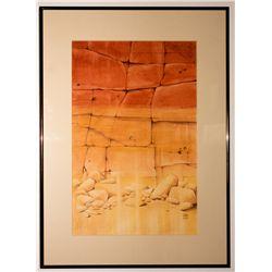 """Canyon Masonry"" by Nevada Artist Ruth Hilts"