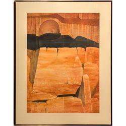"""Cliff Sculpture"" by Nevada Artist Ruth Hilts"