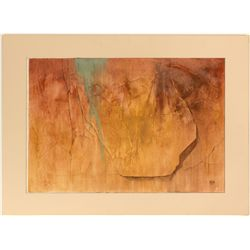 """""""Copper Leach"""" by Nevada Artist Ruth Hilts"""