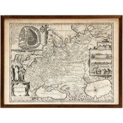A Map of Russia; Sold by Tho: Bassett in Fleet Street. And Richard Chiswell in St. Paul's Church yar