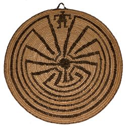 Native American Woven Tray