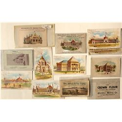 California Midwinter Fair Business Cards