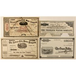 Water Stock Certificates