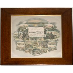 Territorial Pioneers of California Reproduction Print
