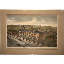 College of Notre Dame, San Jose, California Lithograph