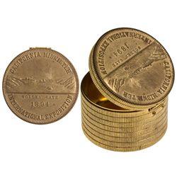 Cal Midwinter Fair Coin Stack holder