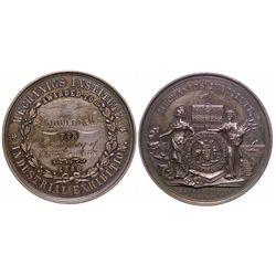 Mechanics Institute Award medal