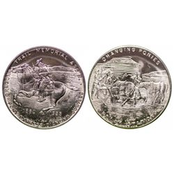 Pony Express Diamond Jubilee token