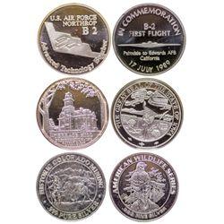 Three Silver Commemoratives