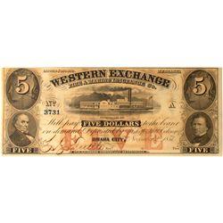 Western Exchange Note