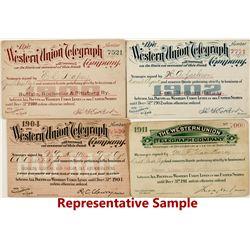 Western Union Telegraph Co. Passes (15)