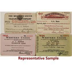 Western Union Telegraph Co. Passes 1920s-40s