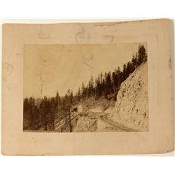 Donner Summit railroad photo