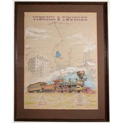 Virginia & Truckee Print