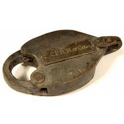 C.P.R.R. of Cal. Lock