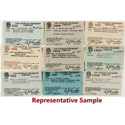 Los Angeles Steamship Co. Passes (16)