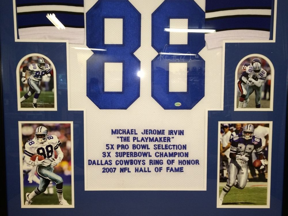 d48df6c1759 ... Image 2   Michael Irvin Signed Cowboys 35