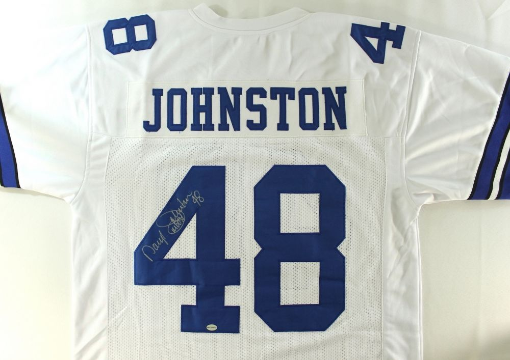 1e4a6bbf5 Image 1 : Daryl Johnston Signed Cowboys Jersey Inscribed