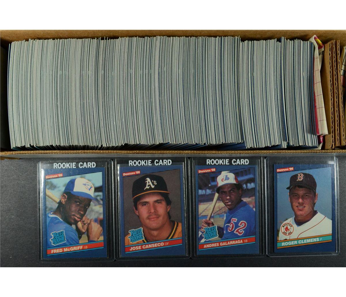 1986 Donruss Baseball Set